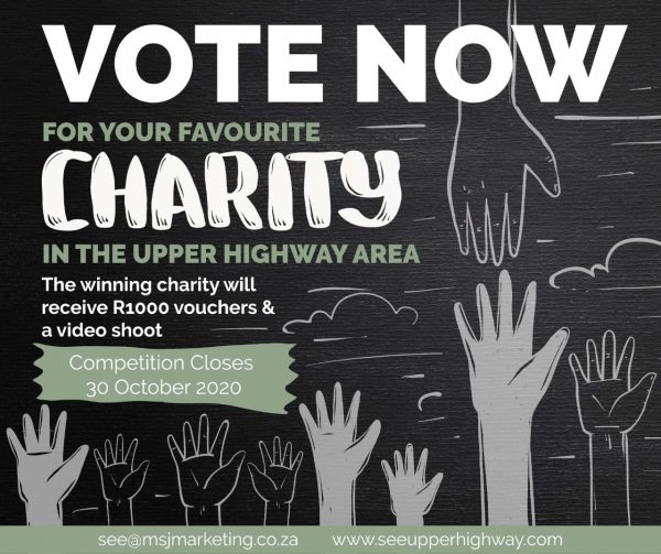 Vote for your favourite charity